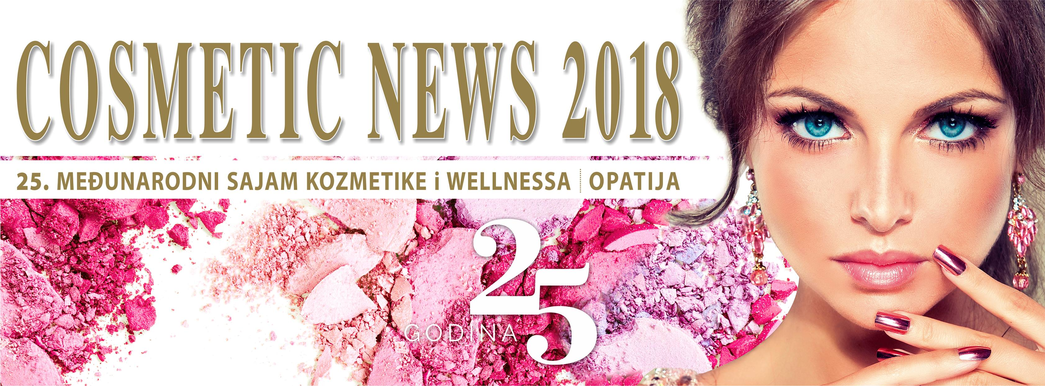 1. OPATIJA - ``COSMETIC NEWS`` 24.- 25.2. 2018.
